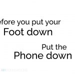 Fresh Air Foundations - Put The Phone Down Poster